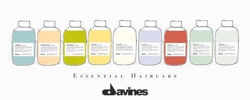 Davines shampoo essential haircare