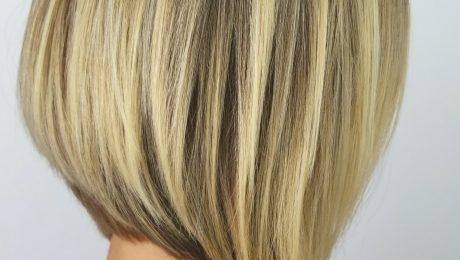 highlights short hair