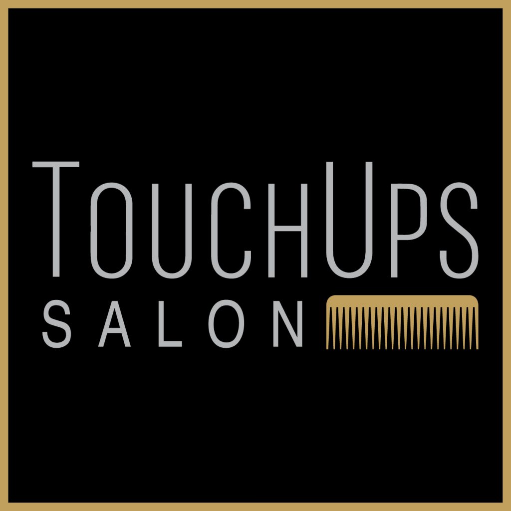 the touchups salon logo