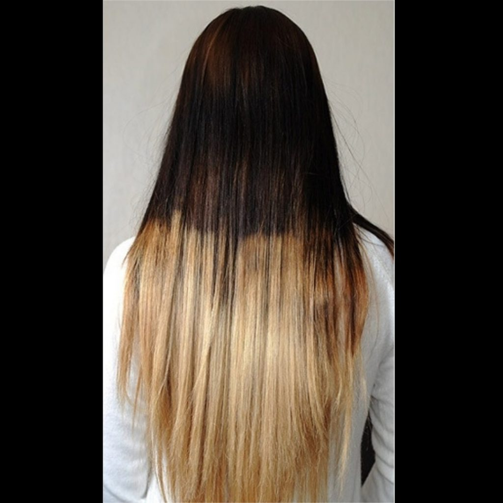An awful balayage.