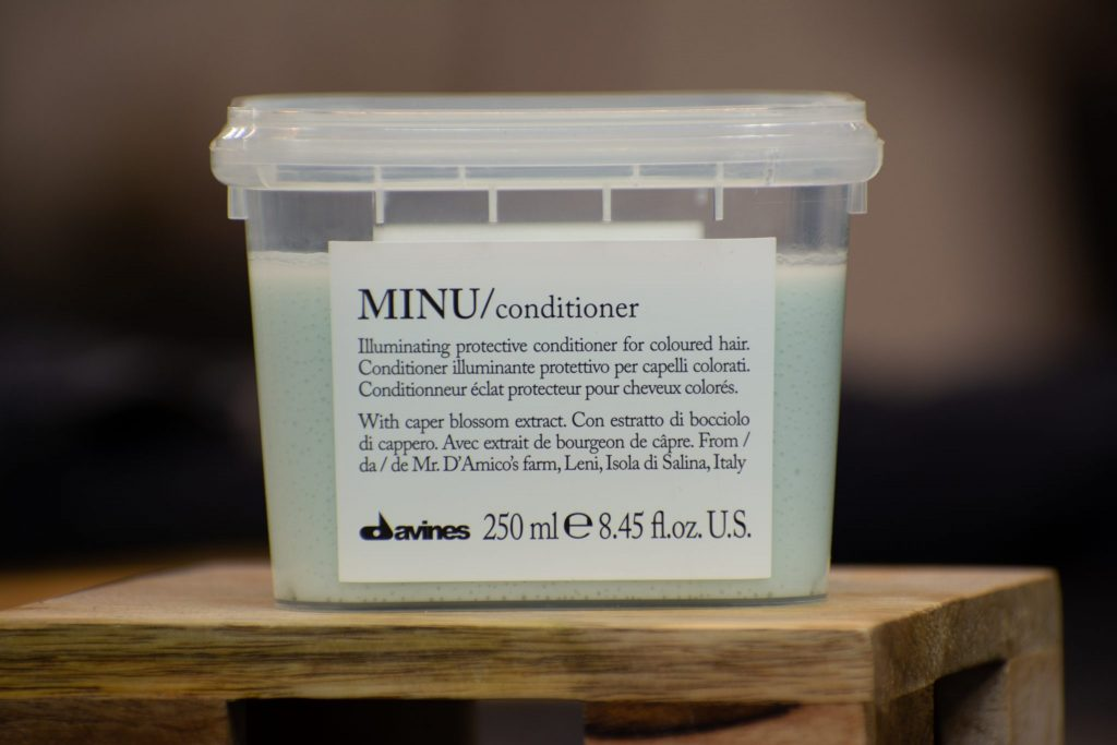 minu conditioner by davines hair product