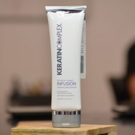 keratin infusion hair product