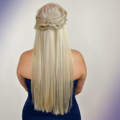 Beautiful Blonde Up-Do