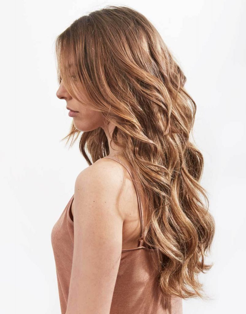 Beautiful Extension-ed hair